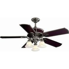 Hampton Bay, Preston 52 in. Vintage Pewter Ceiling Fan, YG092-VPW at The Home Depot - Mobile