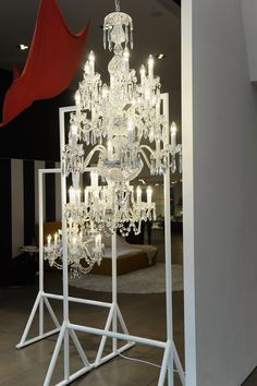 Stunning Waterford Crystal chandeliers #LiveACrystalLife