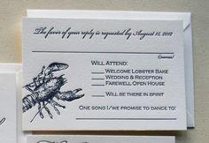 Steel Petal Press | Response Card Wording for Wedding Invitations | http://steelpetalpress.com