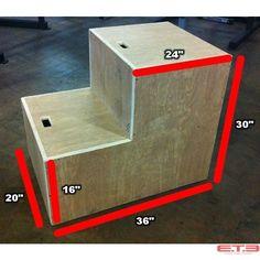 5-IN-1 Plyo Box Extreme Training Equipment $189