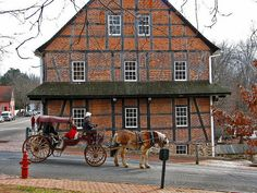 Old Salem, North Carolina. My hometown. I've been here so many times and I especially love it close to Christmas!