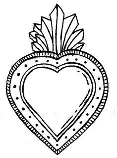 Aluminum Foil Art, Aluminum Can Crafts, Hand Embroidery Patterns, Embroidery Designs, Plastic Bag Crafts, Tin Art, Heart Illustration, Art N Craft, Heart Patterns