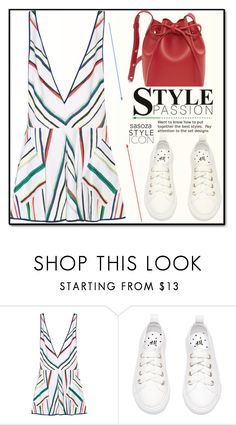 """""""OOTD by Sasoza"""" by sasooza ❤ liked on Polyvore featuring Milly and Mansur Gavriel"""