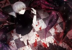 Rating: Safe Score: 142 Tags: all_male angel31424 barefoot bicolored_eyes black_eyes blood chain gray_eyes kaneki_ken male red_eyes shackles short_hair shorts signed tokyo_ghoul white_hair wristwear User: Flandre93