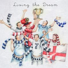 """Cards """" Living the Dream """" - Berni Parker Designs ღ✟ Birthday Card Pictures, Greeting Card Companies, Greeting Cards, School Badges, Friend Crafts, Girlfriend Humor, Crazy Friends, Decoupage, Daisy"""
