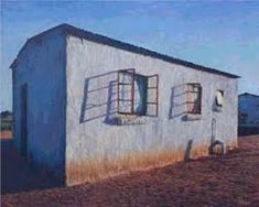 Exhibition Pages / Walter Meyer - Platteland - 2001 South African Artists, Outdoor Structures, Landscape, Brother, Painting, Image, Collection, Scenery, Painting Art