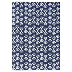 I spied with my Target eye: Threshold™  Rectangular Patio Rug - Arrow Navy, from the Weekly Ad http://weeklyad.target.com