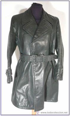 Abrigo chaqueta cuero corta uniforme aleman 2 GM WW2 para recreaciones historicas y vestir. 17991464.jpg (471×774)