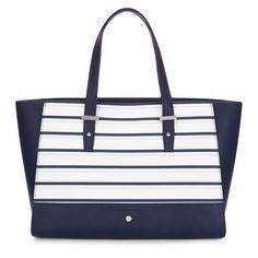 Laura Ashley Nautical Stripe Tote Bag #SS16