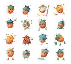 Lieveheersbeestjes voor geluk van Marjolein Bastin.