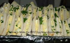 Recipe for Egg Mayo Sandwiches - Delishably - Food and Drink Egg Mayo Sandwich, Mayonnaise Sandwich, Egg Mayonnaise, Sandwich Recipes, Quick Sandwich, Salad Sandwich, Homemade Coleslaw Dressing, Coleslaw Recipe Easy, Potato Salad Recipe Easy