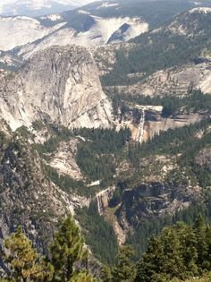 Glacier Point, Yosemite Park!  Very Beautiful