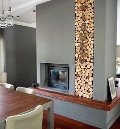 Image result for image of fireplace and tv side by side azulejos