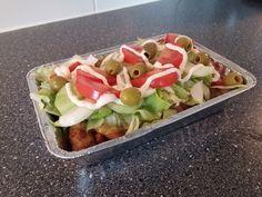 Er zitten 1.800 calorieën in een kapsalon! In deze gezonde kapsalon met zoete aardappel een fractie ervan! Wow, dit is lekker! - Zelfmaak ideetjes