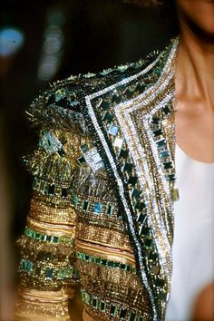 This jacket is high #shine & full of bling! Would you wear it? #fashion