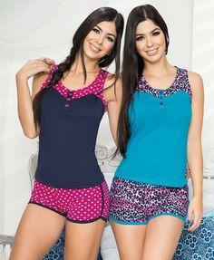 Cute Sleepwear, Sleepwear Women, Lingerie Sleepwear, Womens Pj Sets, Pyjamas, Pijamas Women, Girly Girl Outfits, Patchwork Dress, Comfortable Fashion