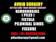 """PILES,FISTULA- """"KSHAR SUTRA THERAPY"""" WITH LATEST TOOLS & TECHNIQUES -CAL..."""