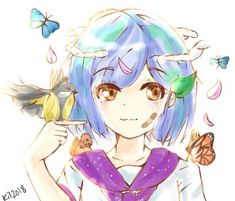 Earth Chan by IIIErrorIII