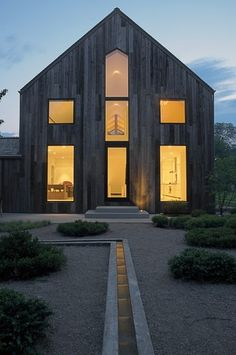 Exterior - eclectic - exterior - new york - d'apostrophe design, inc.  (good mix of rustic and modern)