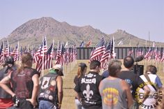 Military Tribute During the Sturgis Motorcycle Rally