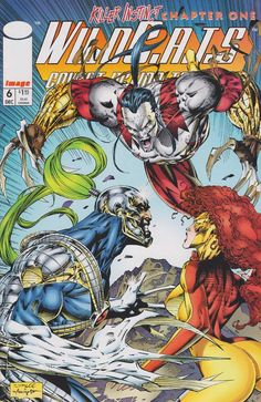 Ripclaw vs Warblade by Jim Lee in WildC. Comic Book Artists, Comic Book Characters, Comic Artist, Comic Character, Comic Books Art, Bd Comics, Image Comics, Book Cover Art, Comic Book Covers