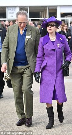 March 16, 2018 ~ Princess Anne, The Princess Royal attends the Cheltenham Festival.