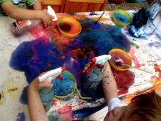 """""""It might seem chaotic, messy, even a little out-of-control (at least through adult-colored glasses), but this is how a play-based, child-driven curriculum works."""""""