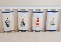 Set of 8 white bar bumpers with Nautical illustrations appliqed on the front. Plump filling with velcro to attach to the bars. Nautical Baby Bedding, Baby Nursery Bedding, Cot Bedding, Babies Nursery, Cot Bumper, Bed Sheets Online, Cheap Bed Sheets, Nautical Pictures, Tour De Lit