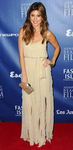 Jamie-Lynn Sigler in the Ashley maxi dress