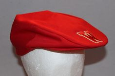 Vintage University of Wisconsin Red Snap Back Hat, Golf Style, Made in the  USA by ilovevintagestuff on Etsy