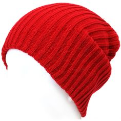 ililily Brand New Stretch fit Knit Golgi Beanie and Free Size Skullies... ❤ liked on Polyvore featuring accessories, hats, sports beanie hats, sport beanie, sports knit hats, sports beanie and sport hats