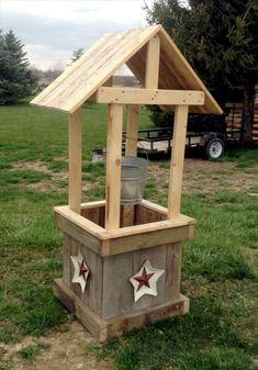 DIY Pallet Project Wooden Decor Ideas (53)