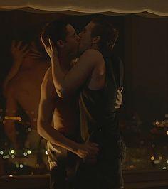 Actors David Solans (Bruno) & Carlos Cuevas (Pol) on season one of 'Merlí' (2015)