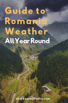 Guide to Romania Weather Year Round Ice Hotel, Countries To Visit, Romania, Paths, Weather, Country, Travel, Viajes, Rural Area
