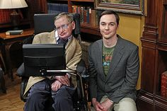 Hawking on The Big Bang Theory with Jim Parsons (Sheldon)