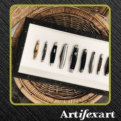 @artifexart posted to Instagram: Have you ever thought to frame the items you collect? Created by: thegalleryframeshoppe . A customer's collection of pocket knives!   #artifexart #Artifexart_Art_Consultants #customframing #pictureframing #custompictureframing #frameshop #commercialinteriordesign #interiordesign #healthcareart #corporateart #lobbyart #moderndecor #homedecor #decor