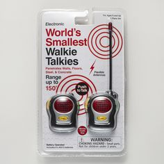 Mini Walkie Talkie Set | World Market