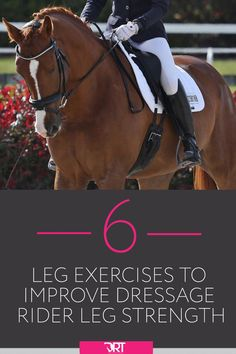 Dressage Rider Leg Strength – 6 Exercises To Help You Improve – Outdoor Sport Equestrian Outfits, Equestrian Style, Equestrian Fashion, Equestrian Problems, Horse Fashion, Riding Hats, Riding Gear, Riding Horses, Horse Training