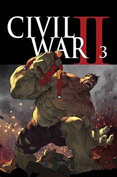 CIVIL WAR II #3 (OF 7) BRIAN MICHAEL BENDIS (W) • DAVID MARQUEZ (A) Cover by MARKO DJURDJEVIC