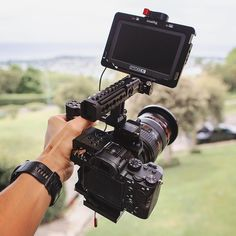 SmallRig Camera Cage Kit 2103 is exclusively designed for Sony It includes 4 parts, namely Double End Ball Head Cage Safety Rail 1409 and NATO Handle Camera Rig, Sony Camera, Camera Hacks, Camera Gear, Video Camera, Digital Camera, Cinema Camera, Movie Camera, Lights Camera Action