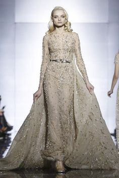 Zuhair Murad Couture Spring Summer 2015 Paris - NOWFASHION