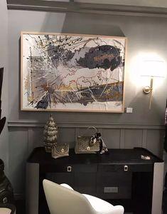 JIENARTS +86-18129907376 Milan International Furniture Fair  #软装#实物画#装置艺术画# Vintage World Maps, The Originals, Design