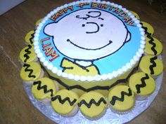 Charlie Brown - such a cute birthday party theme!