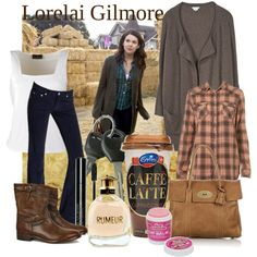 Love.  Why didn't I ever think of plaid shirt + flyaway cardigan?  Need to do this.