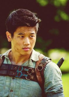 Ki Hong Lee   Movie: The Maze Runner