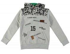 sweater hoodie Grijs Melee