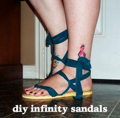 Infinity Sandals Tutorial