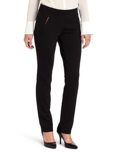 Calvin Klein Women's Ponte Legging Calvin Klein. $47.75. Made in China. 95% Polyester/5% Spandex. 95% polyester, 5%spandex. Dry Clean Only. Legging