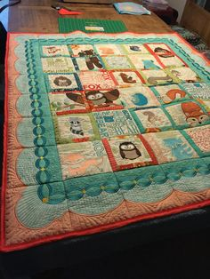 the quilt I made baby Addi with Anita good design animal playhouse