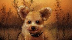 愛犬ティアモのお友達犬をお絵描きしました。 pickのお友達ワンちゃんをお絵描きしました、このワンちゃんの名前は?Ted?、とにかく可愛くて以前からお絵描きしてみようと思ってましたが、今回トイプードルで耳のたったワンちゃんは初めて見ました、、だからこのミッキーマウスの様な耳を立てている絵を描きました、絵だからではなく本当に耳が立つみたいです。   僕の描いた絵です良かったら見てください、ART PICTURE 風景画 Ⅳは、PCパソコンでお絵描き、風景画を描いてみました。  http://youtu.be/qvawnSVNe9Q